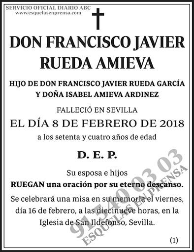 Francisco Javier Rueda Amieva